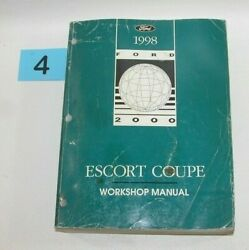 1998 Ford Escort Coupe Factory Service Manual GOOD USED CONDITION 4