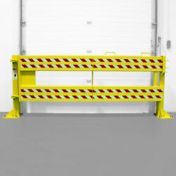 US Netting Defender Gate 20 Loading Dock Safety Gate - 9ft.L x 42in.H