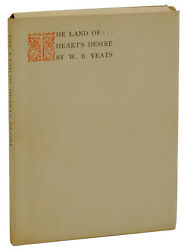 Land Of Heartand039s Desire W.b. Yeats Private Thomas Mosher 1903 Edition 1/32 Vellum