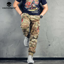 Emerson Combat Pants Fashion Ankle Banded Tactical Style Pants Multicam Trousers