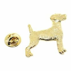 Jack Russell Terrier Pin ~ 24K Gold ~ Lapel Pin