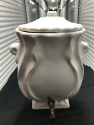 Antique Porcelain Brass Wall Hanging Water Dispenser 11andrdquox9andrdquox3andrdquo
