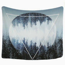 Tapestry Wall Hanging Forest Wall Tapestry Bedspread Art Nature Home Dorm Decor