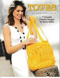 Totes For All Reasons Leisure Arts 5504 Orig Price $9.95 NEW $5.75
