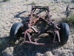 55 56 57 1955 1956 1957 Thunderbird T-bird Frame Chassis Appears To Be Straight