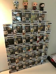 Game Of Thrones Pop Vinyl Collection 1650 Value Down To 1180. See Descript.