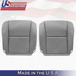 Fits 2005 2006 Toyota Tundra Sequoia Bottoms Leather Seat Cover Gray Lb/11