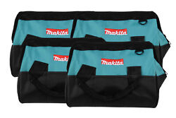 Makita 14 Inch Contractor Tool Bag With Reinforced Handles 4 Pack