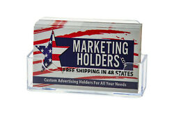 Business Gift Information Card Holder Wall Mount Display Single Pocket Qty1000