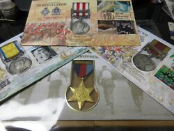 British War Medal Covers From 1700 - 2000 Pmc Benham With Information Sheet Ml