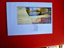 Aust 2004 Rare Snp Visions Victoria Cinderella Booklet Hk Stamp Expo On Cover