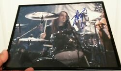 8x10 Photo Of Drummer Dave Abbruzzese Ex-pearl Jam - Signed/autographed