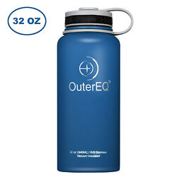 Outdoor Sports 32 oz Vacuum Insulated Stainless Steel Leak-proof Water Bottle