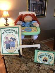 1984 Vintage Cabbage Patch Doll Red Hair