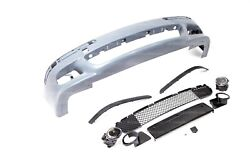 Front Bumper With Trim + Fog Lights For E39 M5 Mtech No Washers With Pdc 530 540
