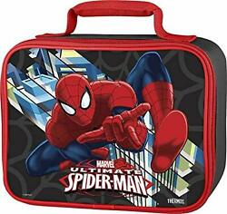 Spiderman Lunchbox School Lunch Bag Backpack Accessories Thermos Bag Lunch Kit