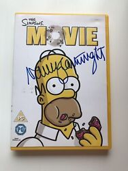 X1 Hand Signed The Simpsons Dvd Movie Autograph Nancy Cartwright - Coa