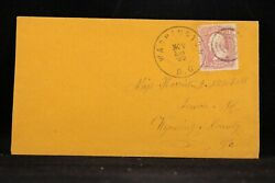Civil War Wash, Dc 1863 Cover + Solders Letter, Gilbert Mitchell, 57th Pa