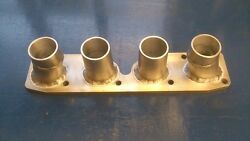 Vw 1.8 Kr And 2.0 Abf/9a Inlet Manifold To Suit R1 Bike Carbs Danst Golf Gti