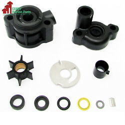 Water Pump Kit Mercury Mariner Outboard Fits Many 4 4.5 7.5 9.8 Hp 46-70941a3