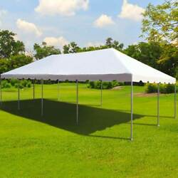 Weekender 20x40and039 West Coast Frame Tent Commercial White Vinyl Party Event Canopy