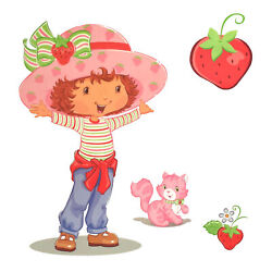 Wholesale Huge Lot 2700 - Strawberry Shortcake Wall Accent - Girls Decal Sticker