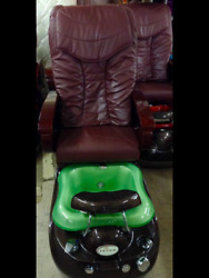 Luxe Pedicure Spa Chair With Whirlpool Jet System Technology