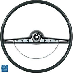 1963 Impala Steering Wheel And Horn Ring Kit Black Standard And Ss