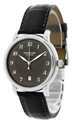 New Star Legacy Gray Dial 39mm Auto Date Menand039s Watch 118517