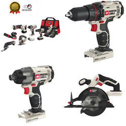 Porter-cable Pcck6118 20v Max Lithium Ion 8-tool Combo 8 Tool Kit With Sander