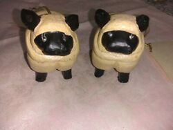 House Of Hatten 1994 Two By Two Collection Sheep Ornaments Denise Calla