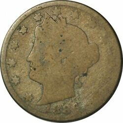 1886 Liberty Nickel - Well Circulated Key Date Collector Coin -ee218htut