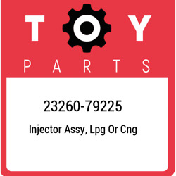 23260-79225 Toyota Injector Assy, Lpg Or Cng 2326079225, New Genuine Oem Part