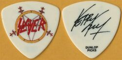 Slayer Kerry King authentic 2009 World Painted Blood signature stage Guitar Pick