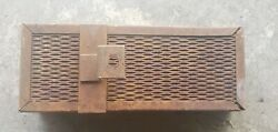 Oliver 60 Tractor Tool Box Vintage Tractor Tool Box Part Row Crop
