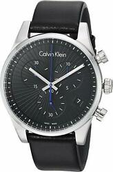 Calvin Klein Men#x27;s Steadfast Quartz Watch K8S271C1 $49.99