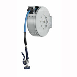 Tands Brass Enclosed Hose Reel, Epoxy Coated Steel