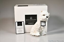 2005 Royal Doulton ANIMALS Best Of Breeds RDA 90 West Highland Terrier  - N.O.S.