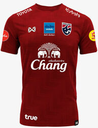 100 Official Thailand National Football Soccer Team Jersey Player Training Red