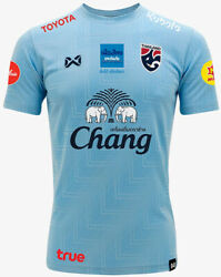 100 Official Thailand National Football Soccer Team Jersey Player Training Blue