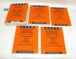 2000 LHS 300M Concorde Intrepid Factory Service Manual Set USED CONDITION #22