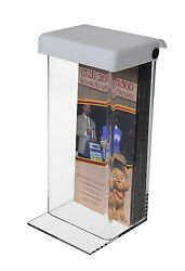 Outdoor Brochure Pamphlet Holder Display Table 3.75 X 8.75 Box With Lid Qty 6