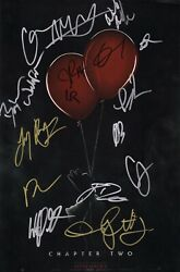 It Chapter 2 Cast X17 Authentic Hand-signed James Mcavoy 11x17 Photo