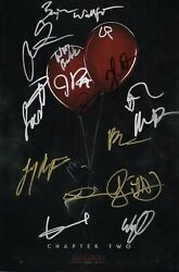 It Chapter 2 Cast X16 Authentic Hand-signed James Mcavoy 11x17 Photo