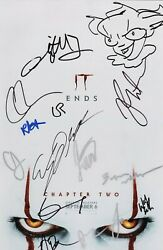 It Chapter 2 Cast X14 Authentic Hand-signed Jessica Chastain 11x17 Photo