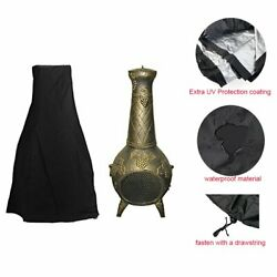 Chiminea Cover - Premium Outdoor Cover With Durable Waterproof 190t Polyster ...