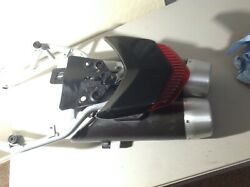 2009 Ducati Hypermotard 1100 S Rear Subframe +exhaust,tail Light, And More