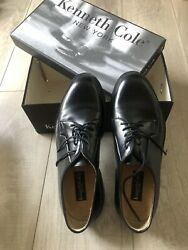 Kenneth Cole Men's Dress Shoes Speed Dial Oxford Shoes Made in Italy Size 10