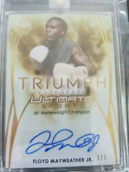 WORLD RECORD 2019 ULTIMATE SPORTS TRUE 11 AUTOGRAPH FLOYD MAYWEATHER JR.