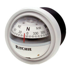 Ritchie Navigation V57w2 Compass Explorer In Dash White